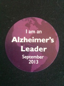 Alz leader sticker